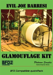 Test: Soundlibrary Glamouflage Kit und Snaredrum Selects Vol.1
