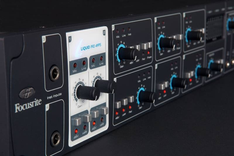 Test: Audio-Interface Focusrite Liqud Saffire 56