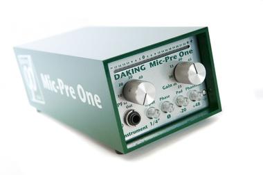Test: Mikrofon-Vorverstärker Daking Mic-Pre One