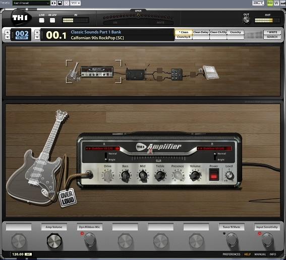 Test: Emulations-Plugin Overloud TH1