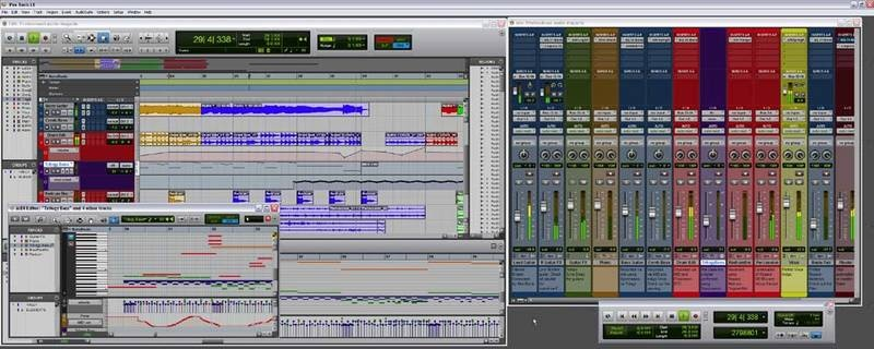 Test: Sequenzer-Software Digidesign Pro Tools 8 LE