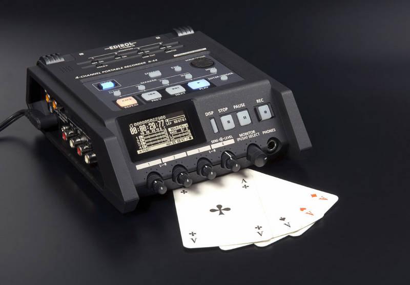 Test: StandAlone-Recorder Edirol R-44