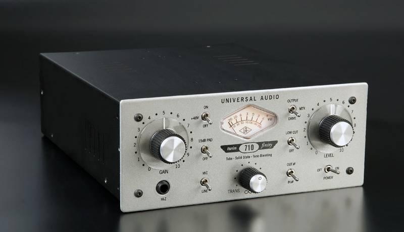 Test:  Universal Audio 710 Twin-Finity