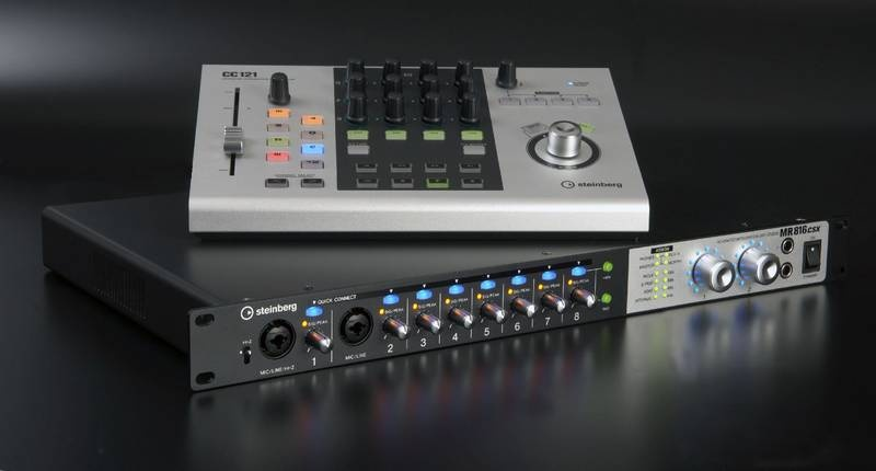 Test: Audio-Interface Steinberg MR816 CSX & CC121