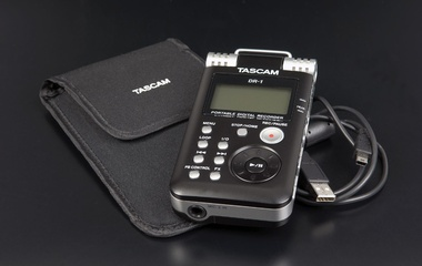 Test: Stand-Alone-Recorder Tascam DR-1