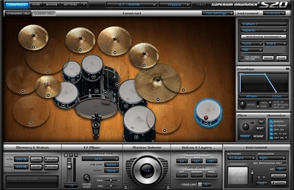Test: Virtueller Drumsampler Toontrack Superior Drummer 2.0