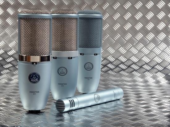Test: Kondensator-Mikrofone AKG Perception-Serie
