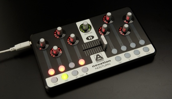 Test: Midi-Controler Novation Nocturn
