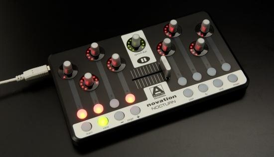 Test: Midi-Controler Novation Nocturn