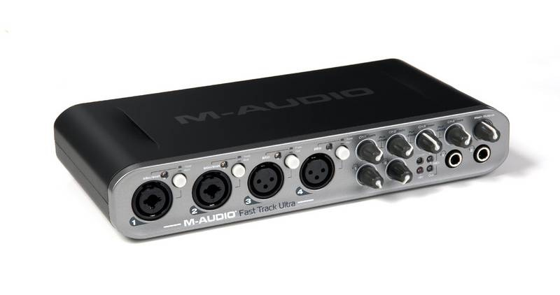Test: Audio-Interface M-Audio Fast Track Ultra