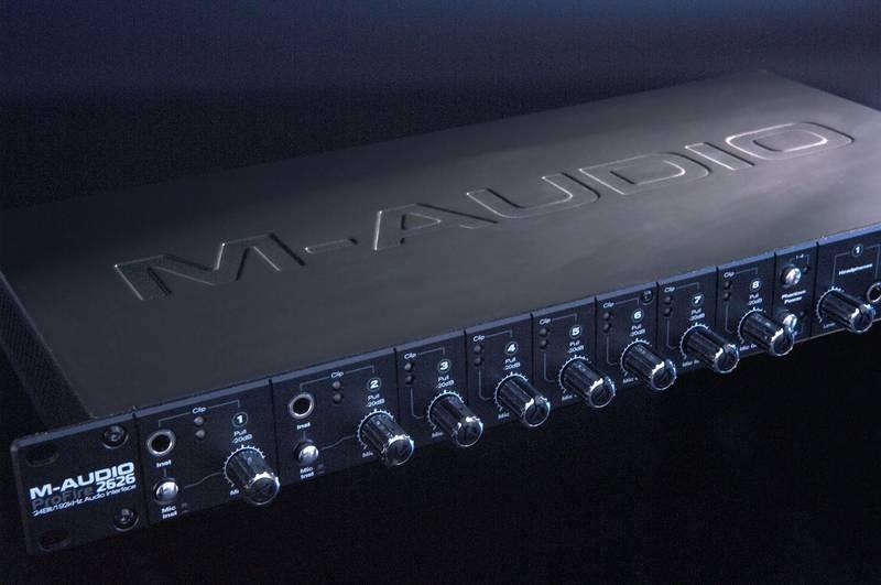 Test: Audio-Interface M-Audio Profire2626