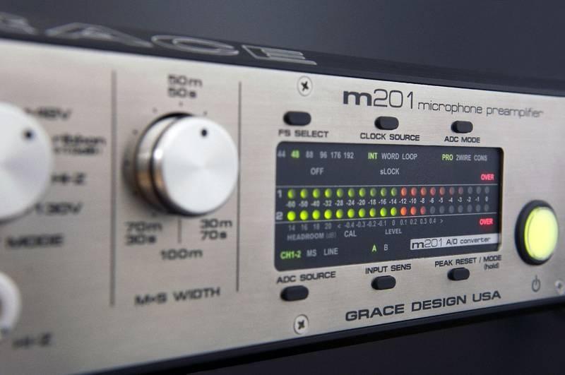 Test: Mikrofon-Vorverstärker Grace Design m201 A/D