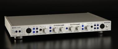 Test : Mikrofon-Vorverstärker Aqvox MIC 2A/D