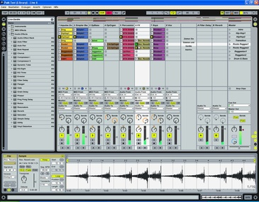 Test: Audio-Sequenzer Ableton Live 6