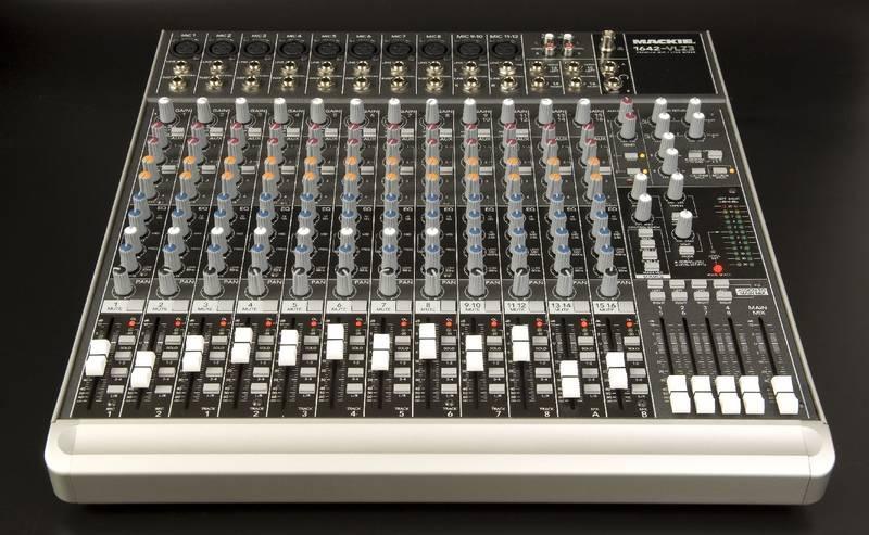 Test: Kompakt-Mixer Mackie 1642-VLZ3