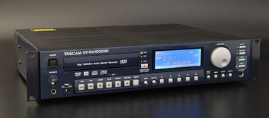 Test: DVD-Master-Recorder Tascam DV-RA 1000HD