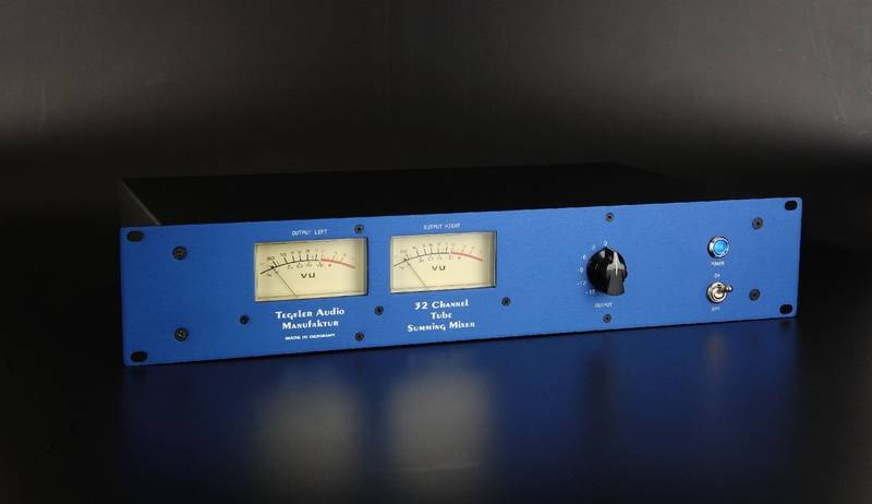 Test: Analoger Summierer Tegeler Tube Summing