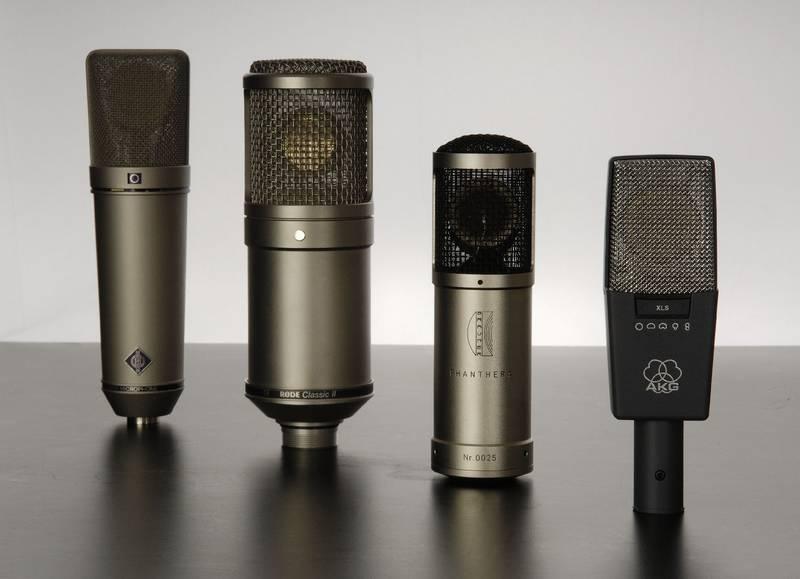 Test: Großmembran-Kondensatormikrofone