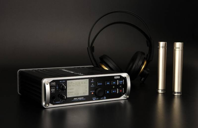 Test: 1-Bit-Mobilrecorder Korg MR-1000