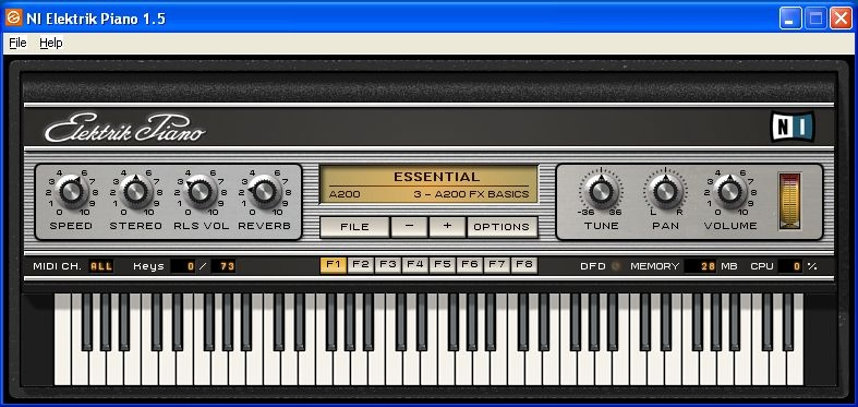 Test: Virtuelles Instrument Native Instruments Elektrik Piano