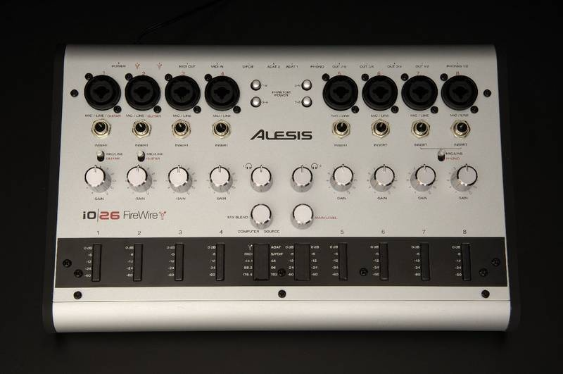 Test: Firewire Audio-Interface Alesis iO/26