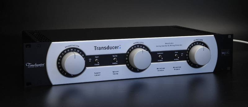 Test: Analoger Lautsprecher-/Mikrofonierungs-Simulator SPL Transducer