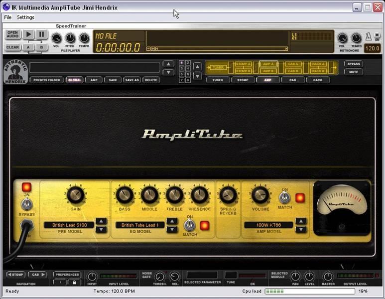 Test: Amp-Simulation IK Multimedia Amplitube Jimi Hendrix