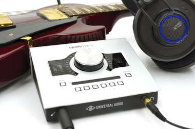 Test: Thunderbolt Audio-Interface Universal Audio Apollo Twin