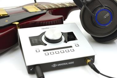 Test: Thunderbolt Audio-Interface Universal Audio Apollo Twin