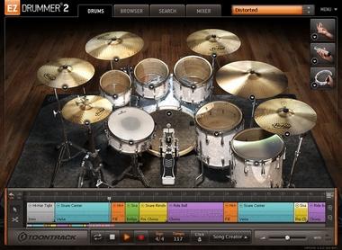 Test: Drumsampler Toontrack EZdrummer 2