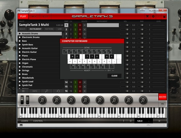 Test: Sample-Instrument IK Multimedia SampleTank 3
