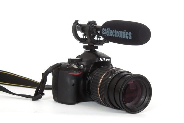 Test: DSLR-Kamera-Mikrofon sE Electronics ProMic Laser