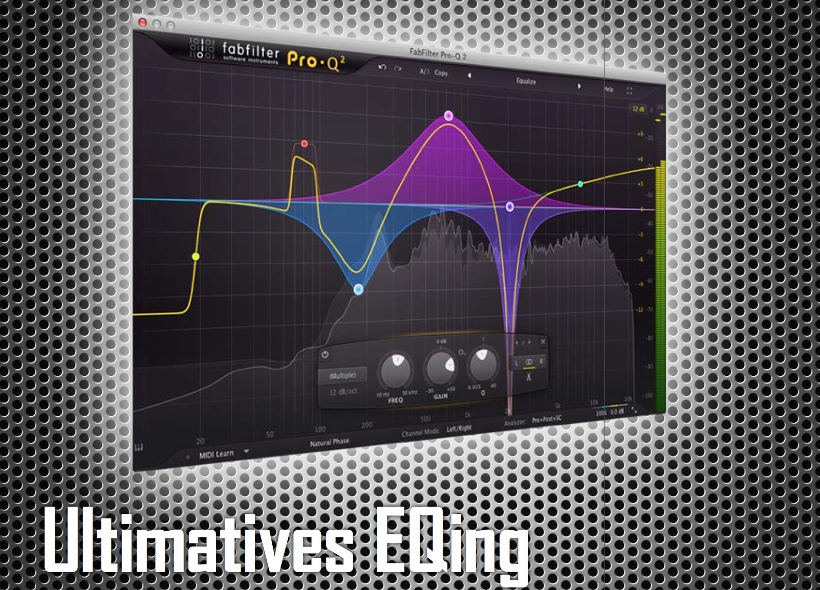 Test Equalizer-Plug-in Fabfilter Pro-Q 2