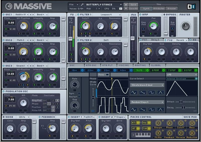 Test: Virtueller Synthesizer Native Instruments Massive