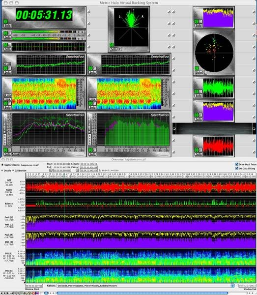 Test: Audio-Analyse-Software Metric Halo Spectra Foo