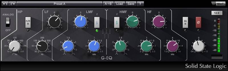 Test: Effekt Plug-In SSL 4000 Bundle