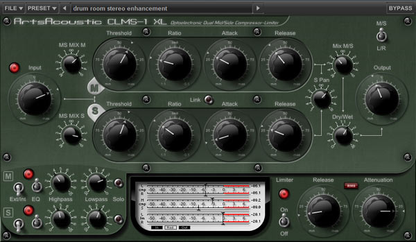 Test: Kompressor-Plug-In Bundle ArtsAcoustic CL Series