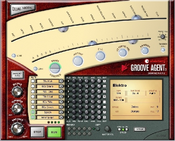 Test: Virtuelles Drum-Instrument Steinberg Groove Agent 3