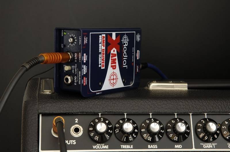 Test: Studioperipherie Radial X-Amp