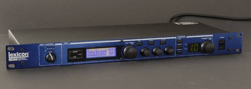 Test: Multi-Effektprozessor Lexicon MX 300