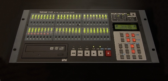 Test: Digitale Stand-alone-Audio-Workstation Tascam X-48