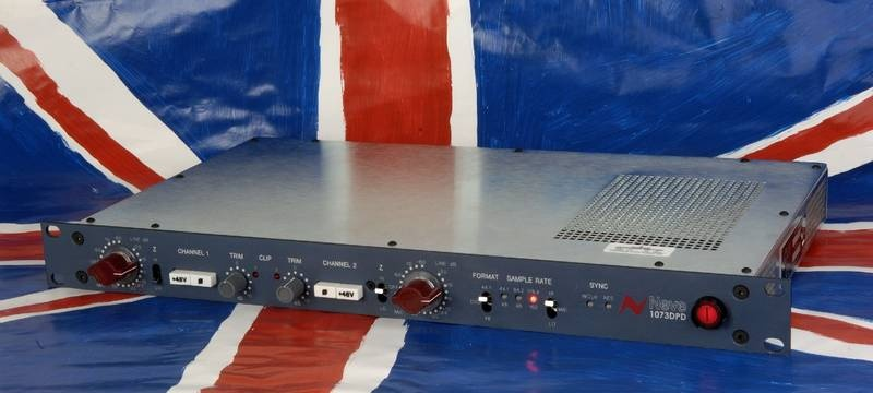 Test: Vorverstärker/Wandler AMS Neve 1073 DPD