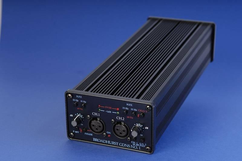 Test: Mikrofon-Vorverstärker D.A.V. Electronics BG No. 1