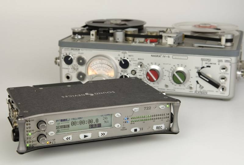 Test: Mobiler Festplattenrecorder Sound Devices 722