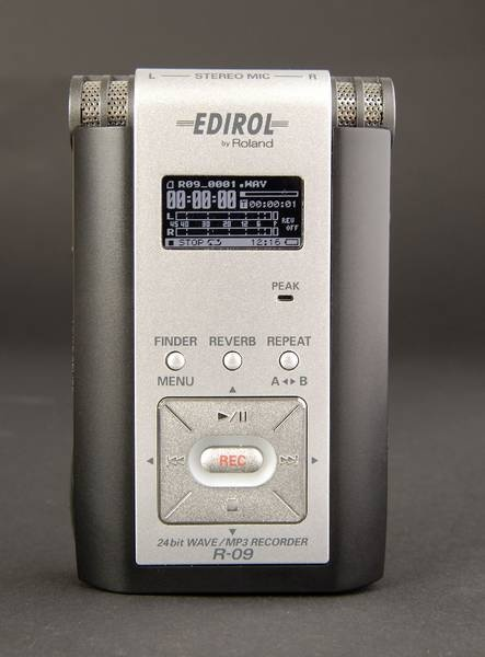 Test: Wave/MP3-Recorder Edirol R-09
