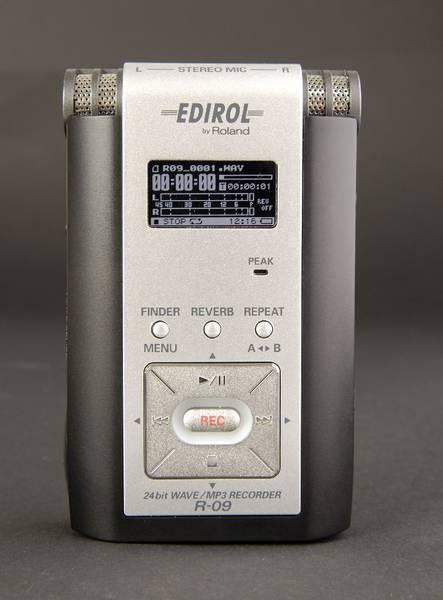 Test: Wave/MP3-Recorder Edirol R-09