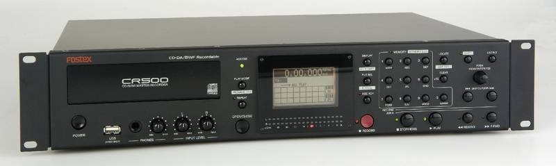 Test: CD-R/RW Master Recorder Fostex CR500