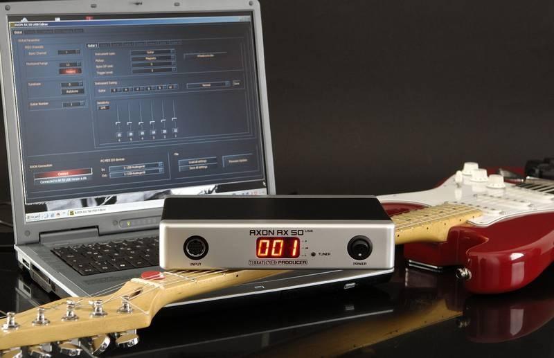 Test: Guitar-to-MIDI Controller Terratec Axon AX 50 USB
