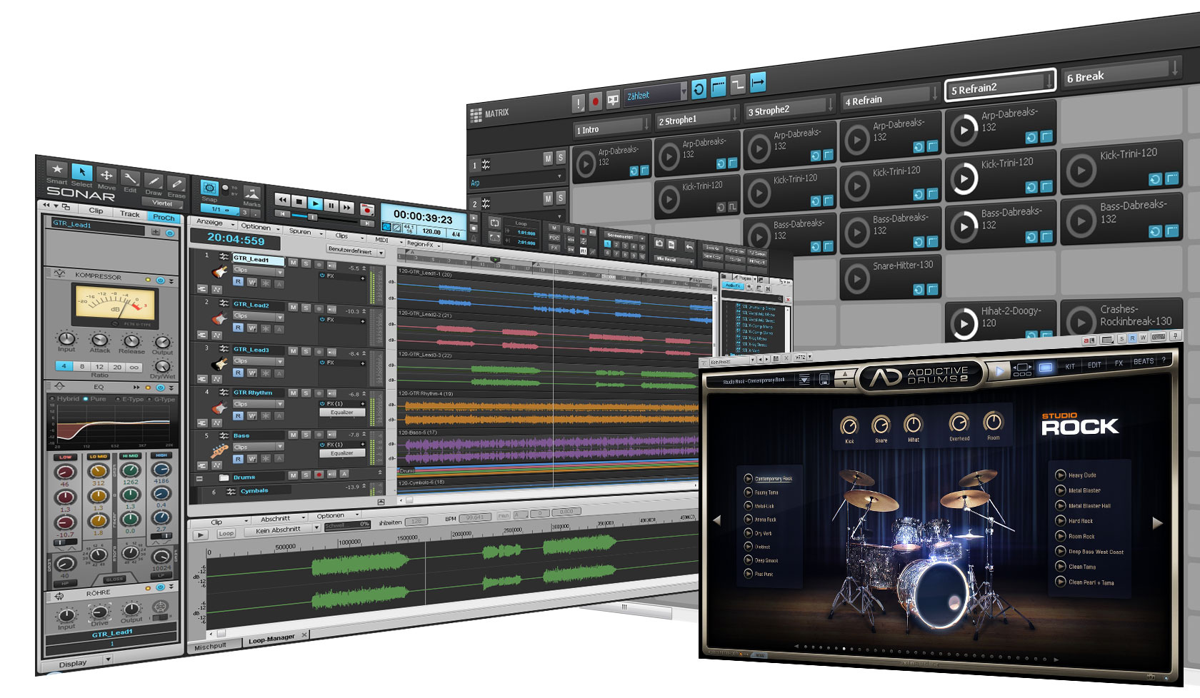 Test: Sequenzer Cakewalk Platinum