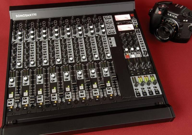 Test: Analogmischpult Sonosax SX-ST8D